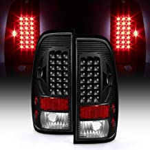 ACANII - For Black 1997-2003 Ford F150 99-07 F250 F350 SuperDuty LED Tail Lights Brake Lamps