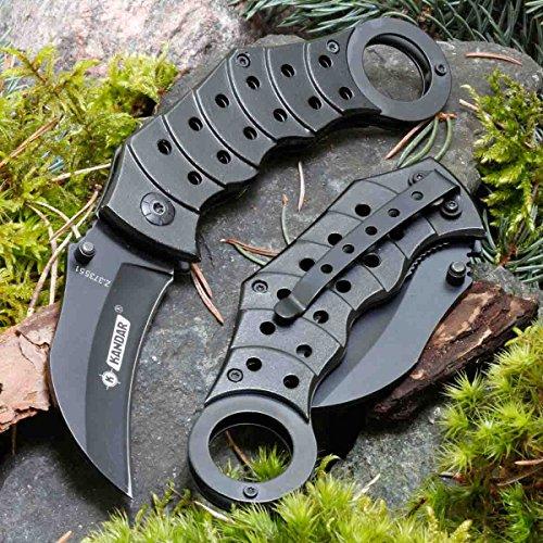 KANDAR ZH-225 • Pocket Folding Outdoor Camping Edc Knife • Overall Lenght: 7.09in • PTM-uk.