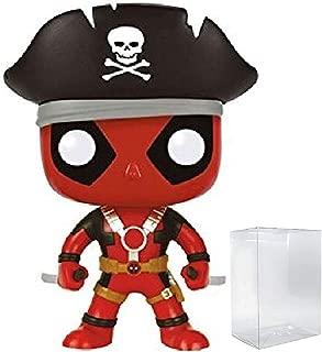 Marvel: Deadpool Parody - Pirate Deadpool Funko Pop! Vinyl Figure (Includes Compatible Pop Box Protector Case)