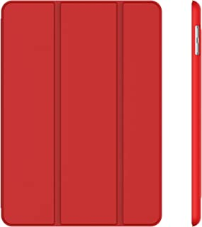 JETech Case for iPad (9.7-Inch, 2018/2017 Model, 6th/5th Generation), Smart Cover Auto Wake/Sleep, Red