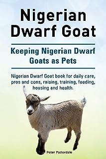 Nigerian Dwarf Goat. Keeping Nigerian Dwarf Goats as Pets. Nigerian Dwarf Goat book for daily care, pros and cons, raising...