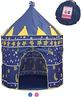 Jasonwell Casa de campaña con diseño de Castillo para niñ