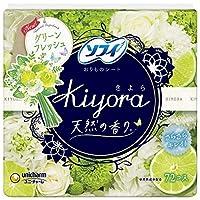 ユニチャーム ソフィ Kiyora フレグランスフレッシュ 72枚 1個×6個