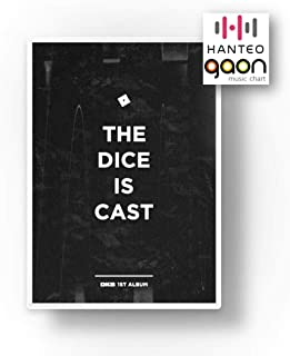 DKB (ダークビ) - The dice is cast (The 1st Album) [予約限定特典提供] CD+フォトブック+折りたたみポスター+Others with Tracking+追加 フォトカード, ステッカー