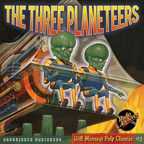 The Three Planeteers cover art