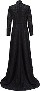 VOSTE Cersei Costume Halloween Cosplay Party Show Queen Long Dress for Women