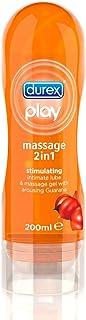 Durex Play Massage Lubricant 2in1 Guarana 200ml [並行輸入品]