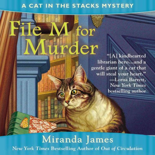 File M for Murder audiobook cover art