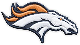 3D Denver Broncos Horsehead Embroidered Iron On Patch