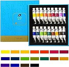 Painting Drawing Art Supplier Kit 5ml/Tubes Watercolor-Paints Set for Students Beginner Art Hobbyist