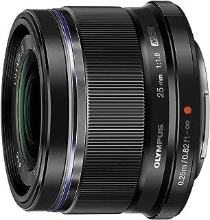 Olympus M.Zuiko Digital 25mm F1.8 Lens, for Micro Four Thirds Cameras (Black)