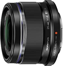 Olympus M.Zuiko Digital 25mm F1.8 Lens, for Micro Four Thirds Cameras (Black)
