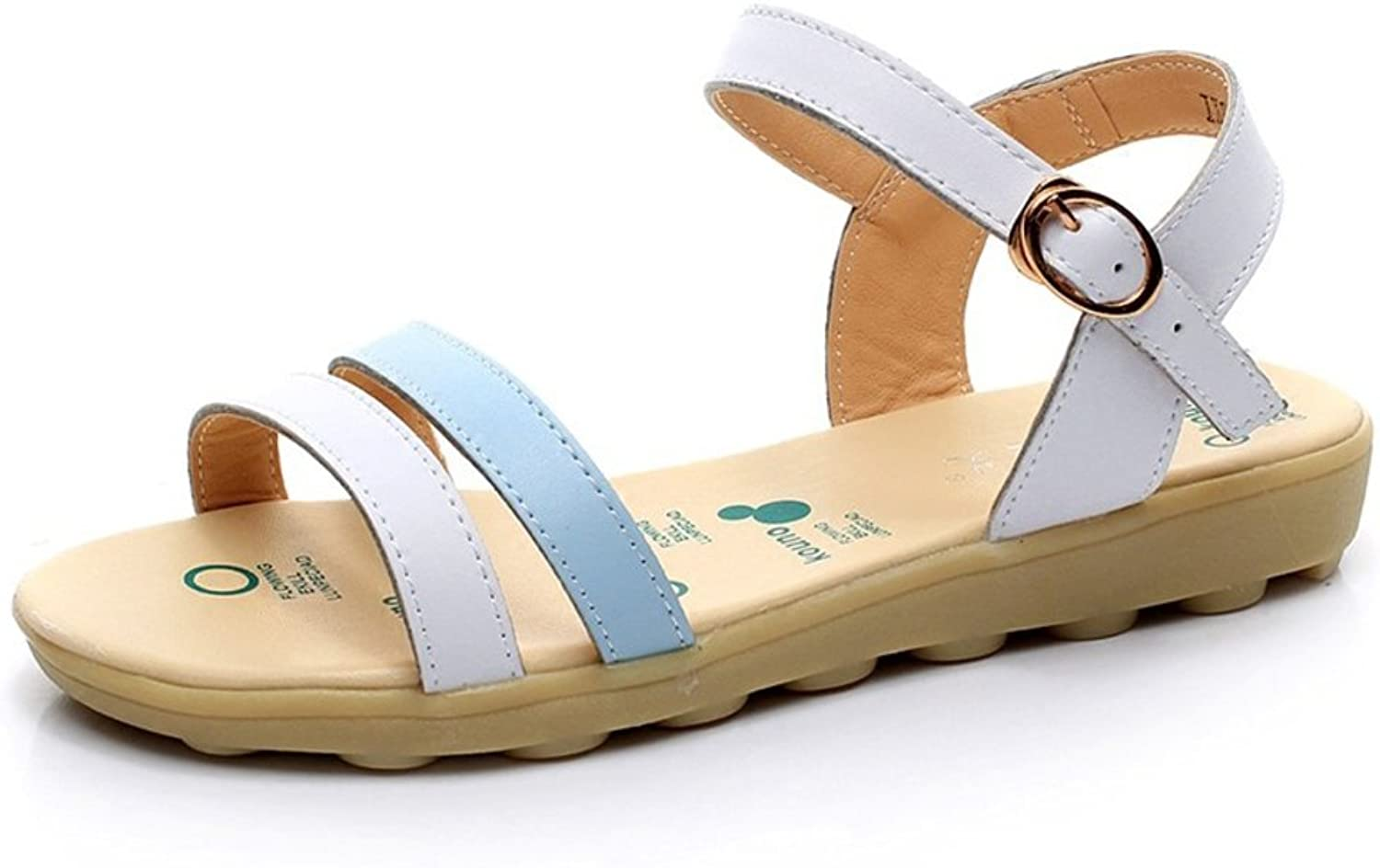 Lady,Summer,Open-toe Sandals Flat Heel ,Flat ,Casual shoes