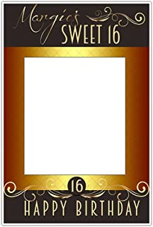 sweet 16 photo booth frame