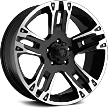Ultra Wheel 235B Maverick Matte Black Wheel with Painted (16 x 8. inches /5 x 4 inches, 10 mm Offset)