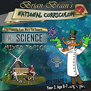 Brian Brain's National Curriculum Family Fun Quiz For Key Stage 1 Year 2 Science Mixed Topics cover art