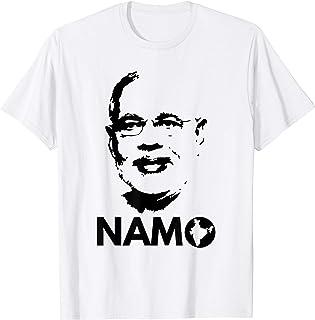 Narendra Modi Face Namo Again 2019 India BJP T-shirt