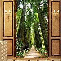 MAZFそびえ立つ木々森の入り口の壁の背景絵画カスタム大きな壁画の壁紙papelde parede para quarto