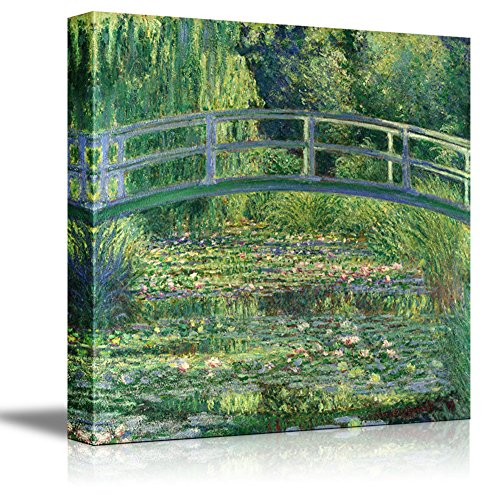 The Water Lily Pond by Claude Monet Giclee Canvas Prints Wrapped Gallery Wall Art