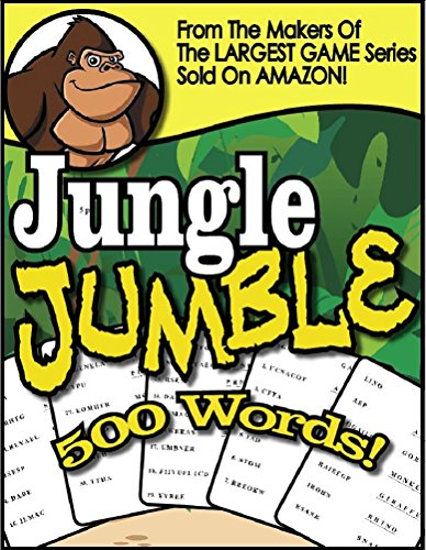 JUNGLE JUMBLE - 500 BIG MIXED UP WORD GAME PUZZLES FROM THE MAKERS of BRAIN GAMES® (English Edition)