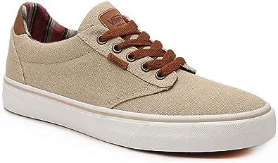 Amazon.com   Vans Atwood Deluxe Sneaker Beige Mens 13   Fashion ...