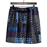 Pantalones Cortos Hombre Verano con Estampado Shorts de Playa...