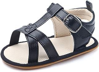 Sandalias Bebé Niña Verano Zapatos Recién Nacido Plano Casual Comodas Goma Antideslizante