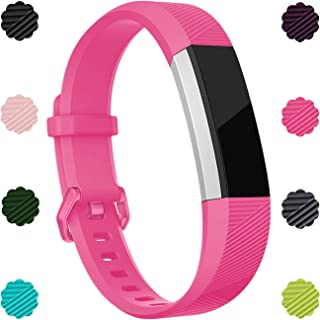 Wepro Bands Compatible with Fitbit Alta/Alta HR/Alta Ace, Replacements Sport Strap for Fitbit Alta/Alta HR/Ace Fitness Tracker, Multi-Colors, Men, Women, Large, Small