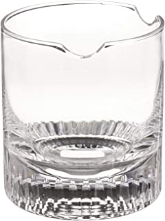Fess Products Cigar Whiskey Glass with Built in Single Cigar Rest