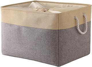 Guillala Linen Storage Box, Clothes Socks Underwear Organizer Multifunctional Shelf Organizer Basket for Mum Newborn Toddl...