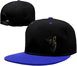 City Grid Hip-hop Baseball Cap