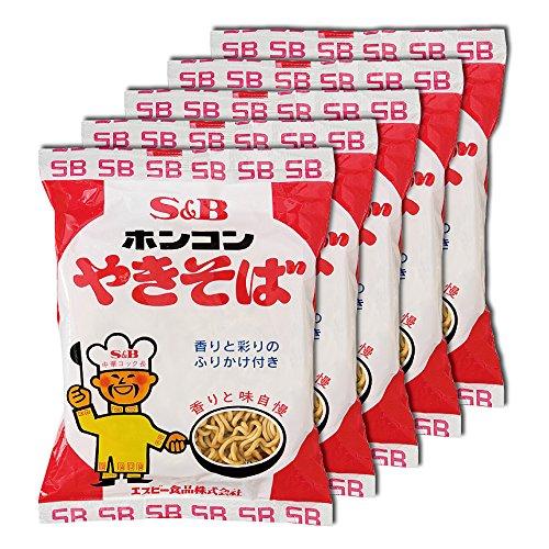 S&B ホンコンやきそば85g 5食パック × 2個セット
