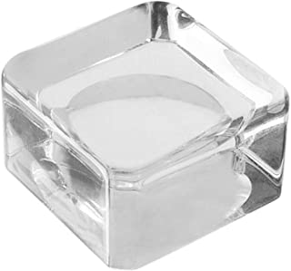 Generic Valse Wimpers Lijm Lijm Pallet Houder Pakking voor Wimper Extension Crystal Glas Wimper Extension Supplies - Een