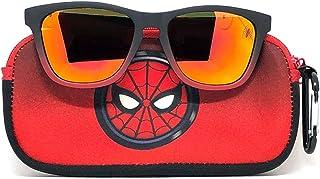 Spiderman Kids Sunglasses with Kids Glasses Case,...