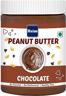 HAIM Chocolate Peanut Butter| Creamy & Chocolatey | Non-GMO Premium Peanuts | Gluten Free | Vegan | 400g