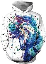 OLIPHEE Sweat Stranger Things 3 Homme Sweat-Shirt Coupe Slim