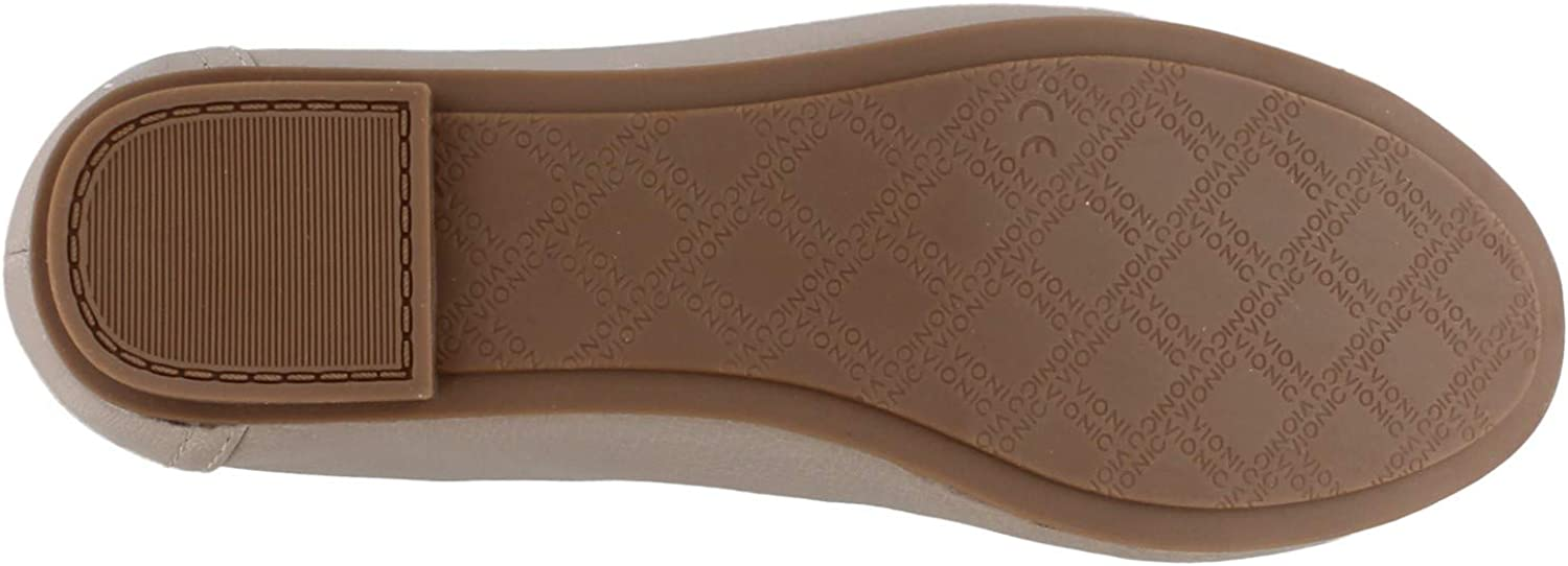Ladies Dress Casual Shoes with Concealed Orthotic Arch Support Vionic Womens Spark Caroll Ballet Flat