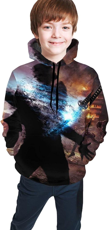 Mortal Kombat Teenager Pullover 3D Print Sweatshirts