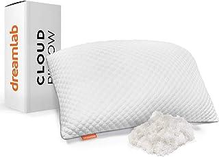 Dreamlab Almohada Cloud | Ajustable, Memory Foam y Microfibr