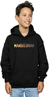 Star Wars Niños The Mandalorian Series Logo Capucha