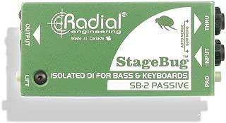 Radial StageBug SB-2 1-Channel Passive Instrument Direct Box
