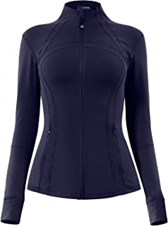 Women's Sports Define Jacket Slim Fit and Cottony-Soft Handfeel 60927