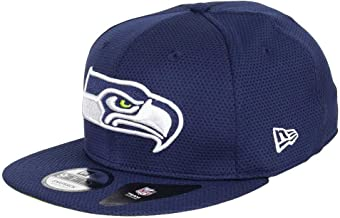New Era NFL Seattle Seahawks Training Mesh Snapback Cap 9fifty 950 S M Basecap Navy