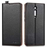 Lensun Xiaomi Mi 9T / 9T Pro Leather Case, Flip Genuine
