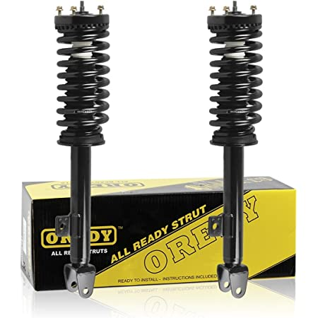 Front Pair Complete Strut with Coil Springs for 2005-2008 Dodge Magnum V8 RWD