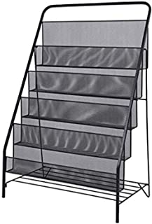 N/Z Home Equipment CD Storage Rack Large Capacity Record Storage Rack DVD Game Disc Metal Display Stand Child Picture Floo...