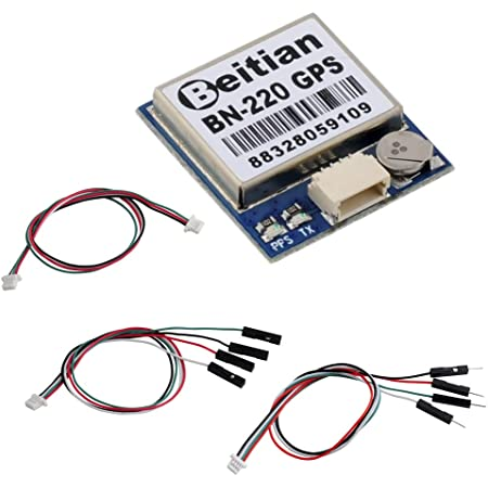 DIYmalls BN-220 GPS Dual Glonass Módulo Nivel TTL Navegación + GPS Antena pasiva para Arduino Raspberry Pi CC3D F3 Betaflight F4 Flight Control