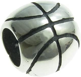 925 Sterling Silver USA Rugby Football Basketball Volleyball Golf club Bat Mitten Sport Bead f/European Charm Bracelet