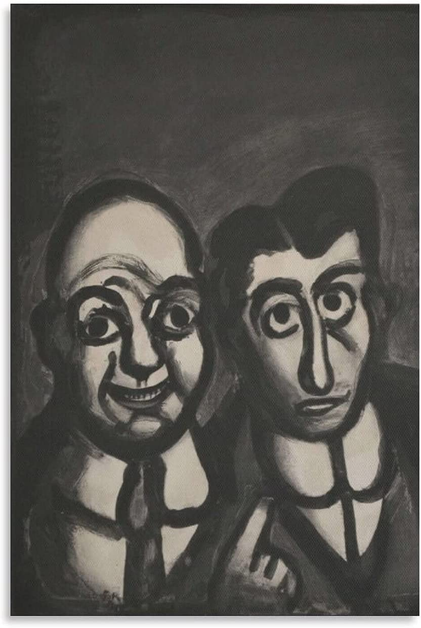 JIALING Georges New product Rouault A Cool Photo Art Print Original Nippon regular agency Etching
