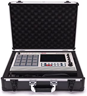 Analog Cases UNISON Case for Akai MPC Live 2 and MPC Live (transport case, aluminium corner protection, padded lid with ha...